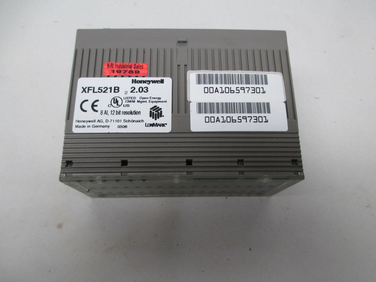 Honeywell 8 Analog Input Module XFL521B