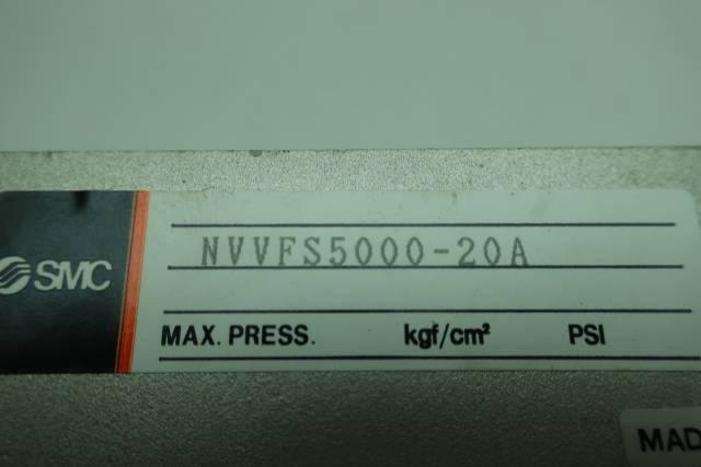 SMC NVVFS5000-20A PNEUMATIC VALVE MANIFOLD D660067
