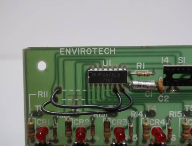 ENVIROTECH EAS-82 PCB CIRCUIT BOARD