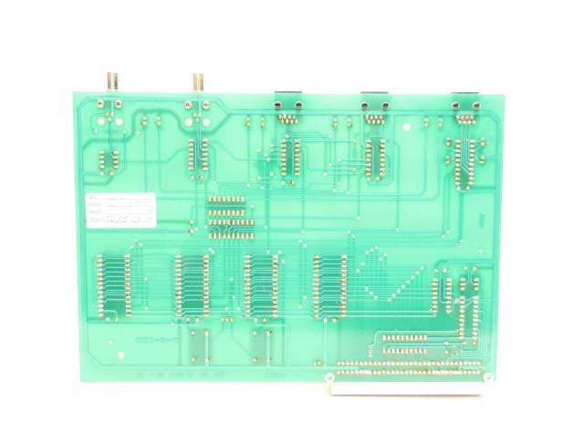 FORRY 101763 FIBER OPTIC REV D PCB CIRCUIT BOARD