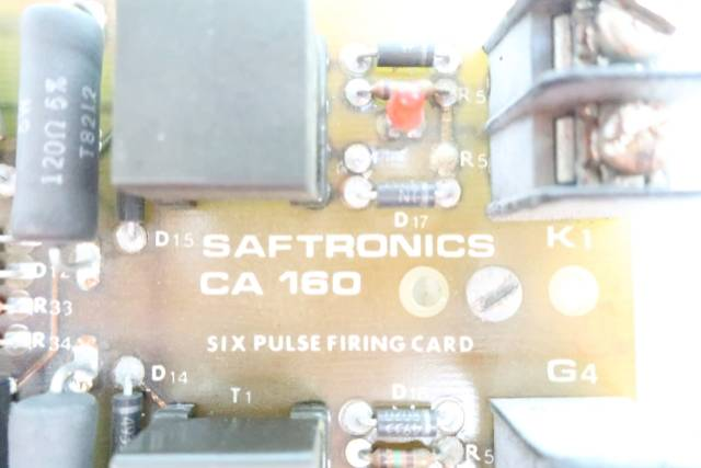 SAFTRONICS CA160 PULSE FIRING CIRCUIT BOARD