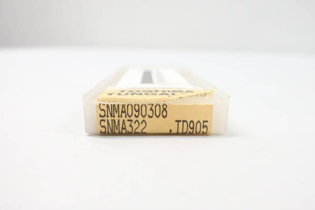 PACK OF 10 TOSHIBA SNMA090308 TUNGALOY CARBIDE INSERT