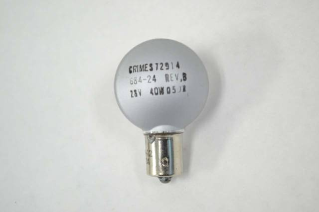 HONEYWELL 684-24 GRIMES AEROSPACE LAMP 28V-AC 40W LIGHTING B337866