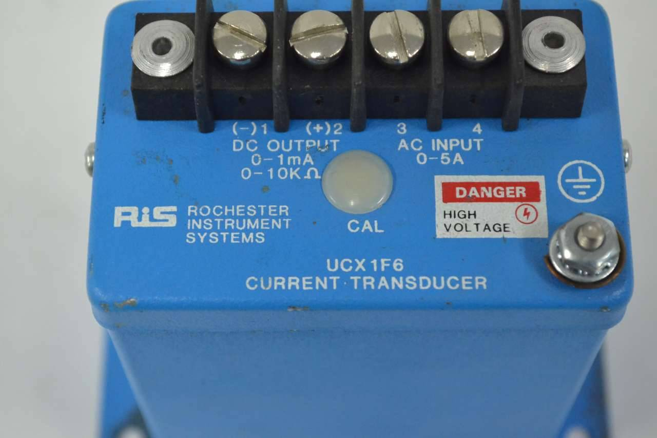 Details about  /CURRENT TRANSDUCER Rochester Instrument Systems Part UCX1F6