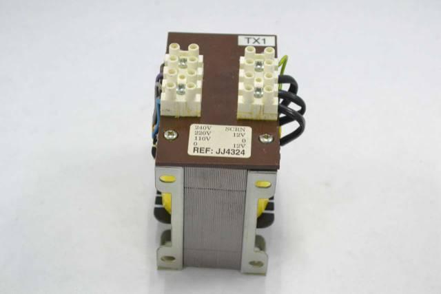 JJ4324 VOLTAGE 110/220/240V-AC 12V-AC TRANSFORMER B352658