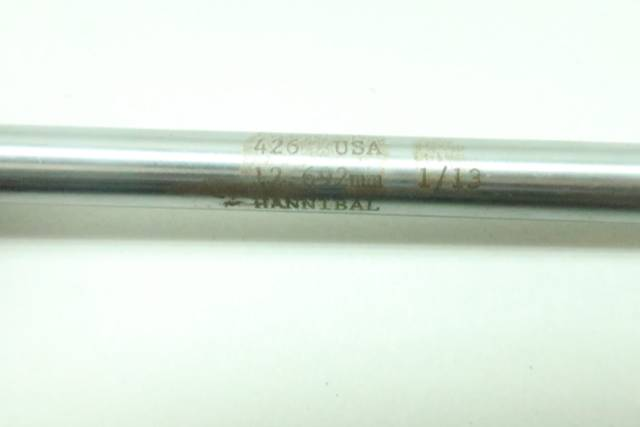 HANNIBAL CARBIDE 426 REAMER 12.692MM