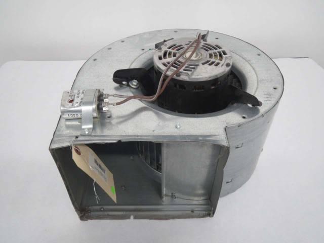 FASCO U26B1 FAN BLOWER 1/4HP 115V-AC 1000/850/650RPM AC ELECTRIC MOTOR on