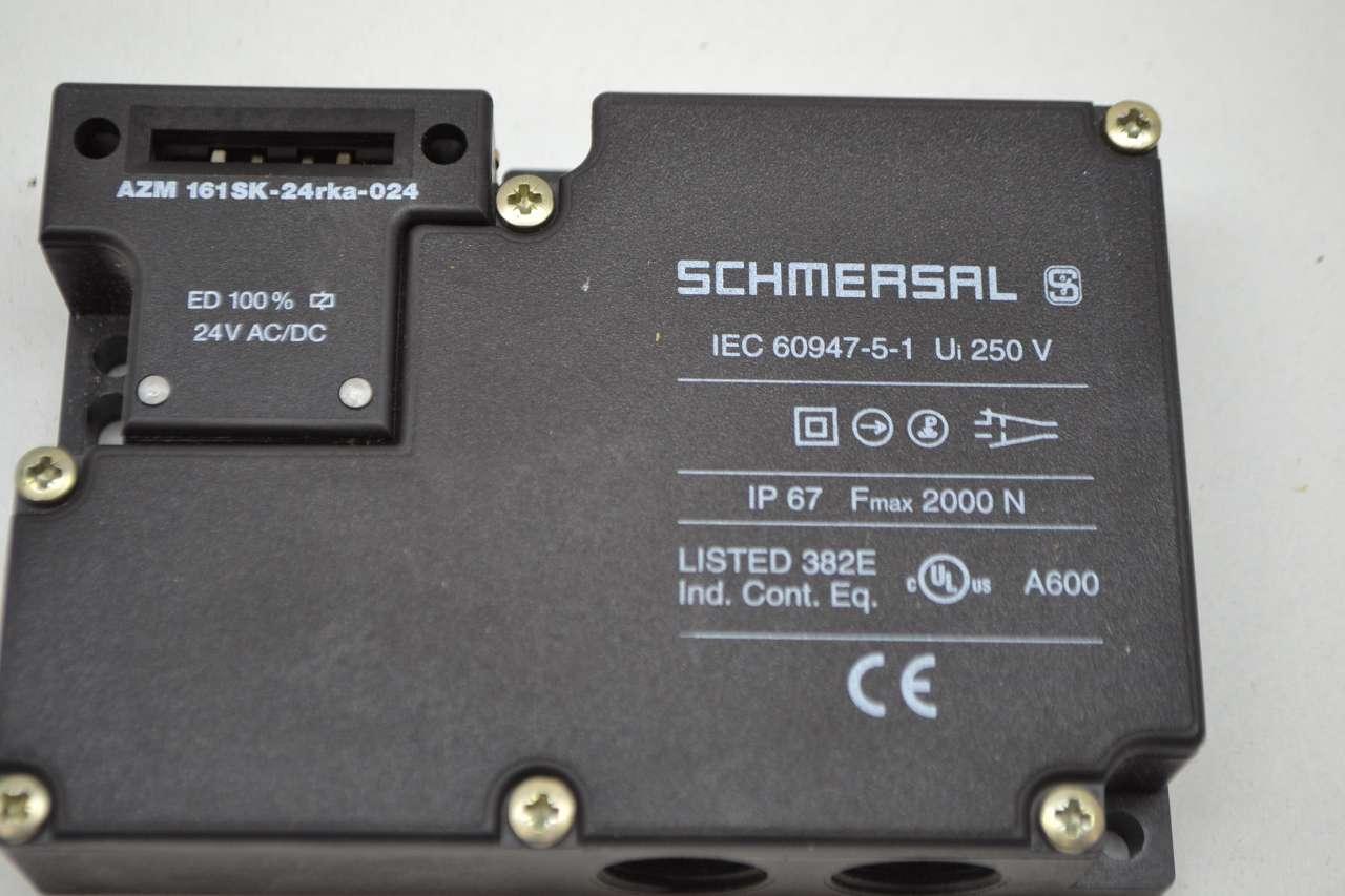 AZM161SK-24RKA-024 Schmersal Safety Interlock Switch