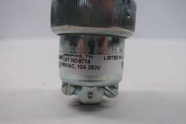 THOMAS&BETTS 8714 EVER-LOK 3P 4W 20A AMP 125/250V-AC PLUG