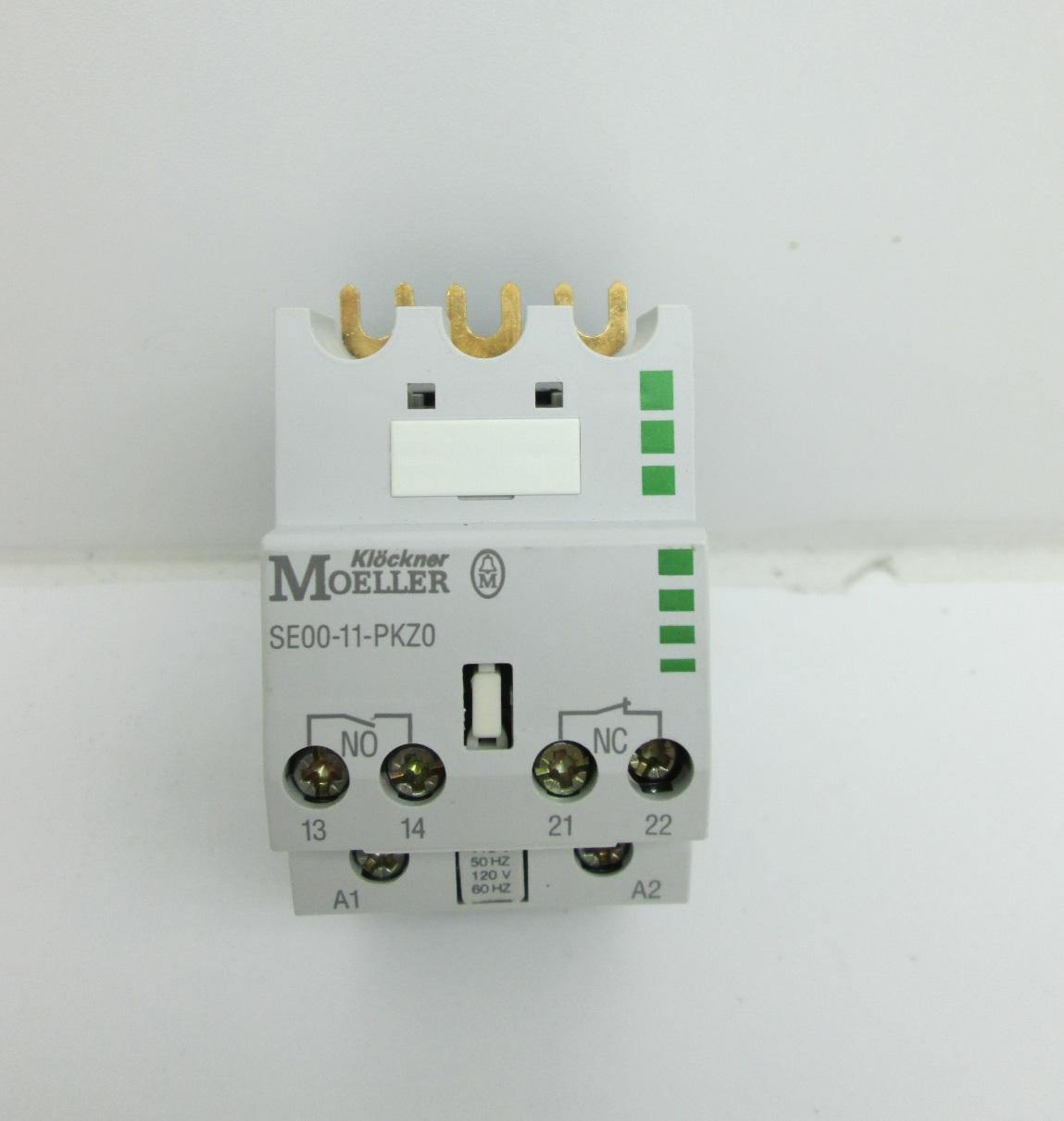 NEW Moeller SE00-11-PKZ0 Contact Module 10 HP 575V