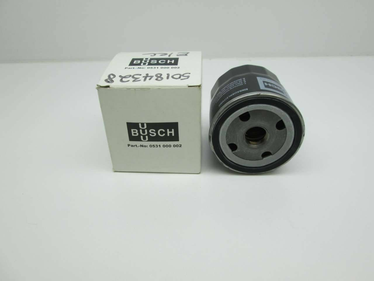 Busch 0531.001.000 Replacement Filter by Mission Filter INC