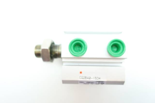 SMC CQ2B40-15DM DOUBLE ACTING PNEUMATIC CYLINDER 40MM 15MM 145PSI D660078