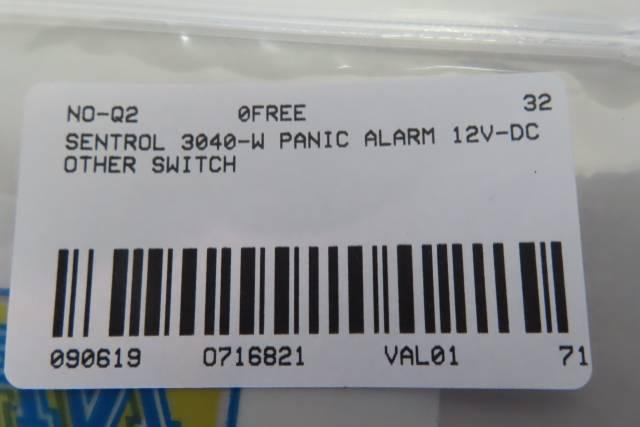 INTERLOGIX 3040-W SENTROL PANIC ALARM SWITCH R716821