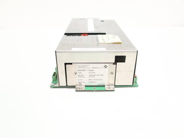 SCHENCK VCU 20103 DISOCONT TERSUS STOCK DT-9 WEIGHING CONTROLLER MODULE