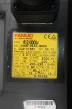 FANUC A06B-0243-B605 A12/3000I SERVO MOTOR 3PH 3KW 3000RPM 12NM 200-230V-AC