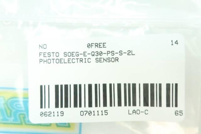 FESTO SOEG-E-Q30-PS-S-2L PHOTOELECTRIC SENSOR