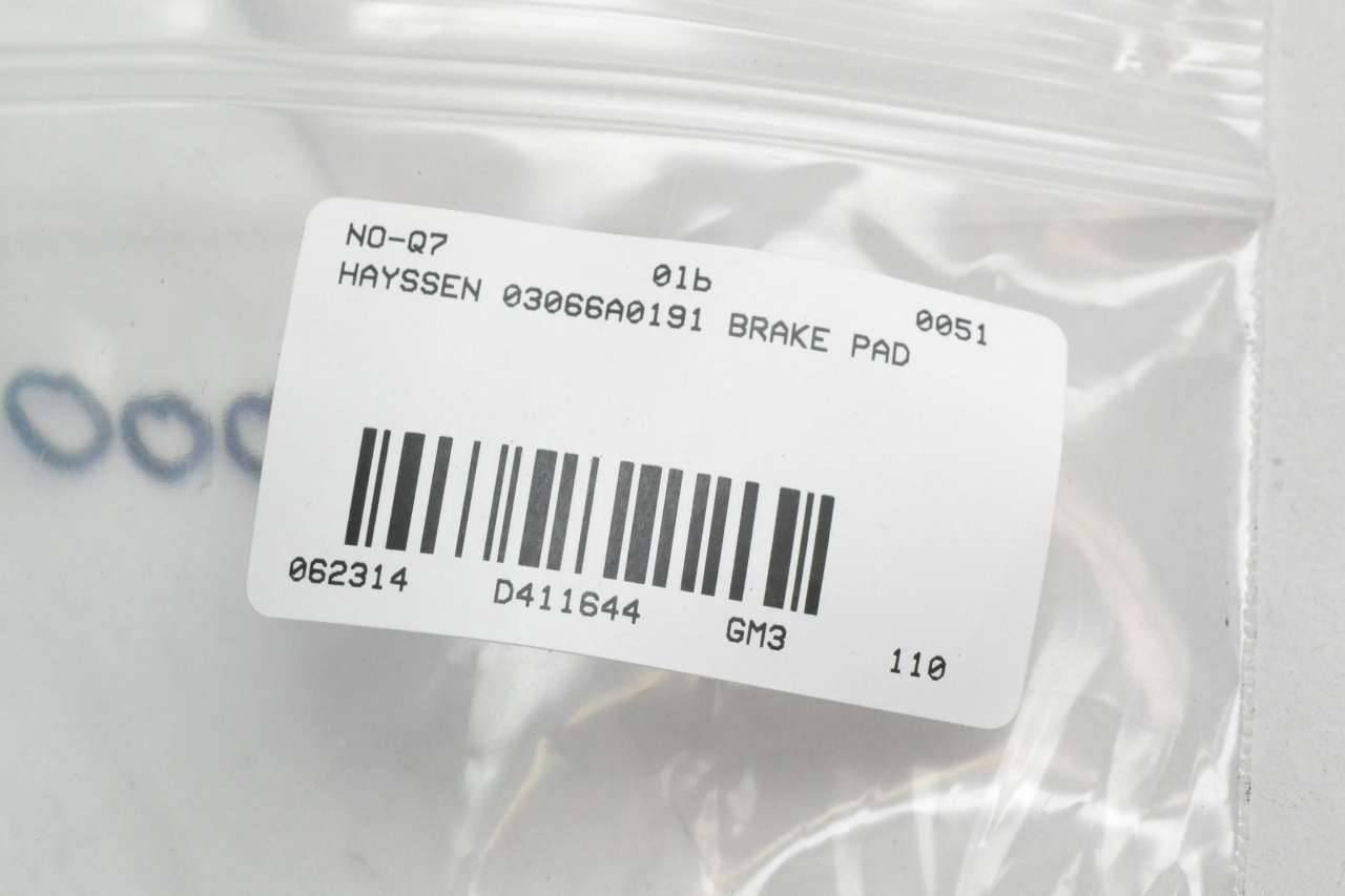 Part Number 03066A0191 New Hayssen Contoured Pad Brake