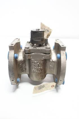 TUFLINE GT 1720260 MANUAL 150 STAINLESS FLANGED 3IN PLUG VALVE