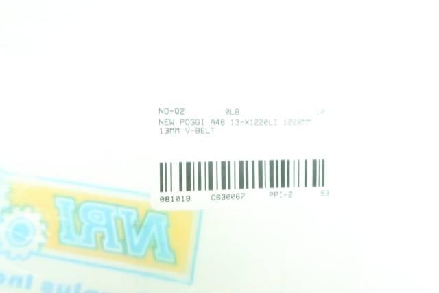 POGGI A48 13-X1220LI 1220MM 13MM V-BELT D630067