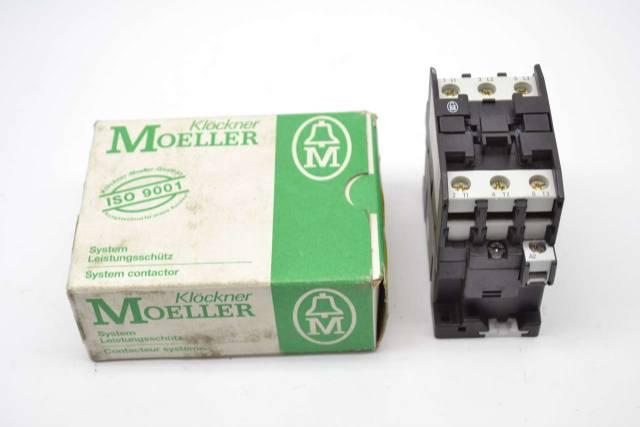 KLOCKNER MOELLER DIL0M/22 600V-AC 3 PHASE 24V-DC 15HP 35A AMP CONTACTOR  B427876