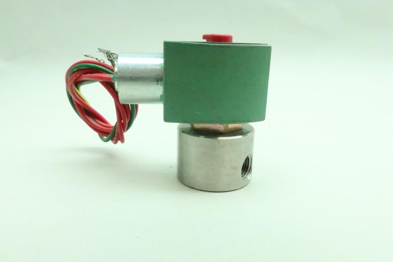 ASCO 8262G7 RED-HAT II Solenoid Valve 120V-AC 1//4IN NPT