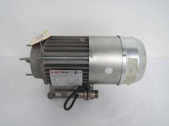 BER-MAR SVC 71C4 767 0 37HP 277/480V-AC 5000RPM 4P 3PH AC ELECTRIC MOTOR  B441986