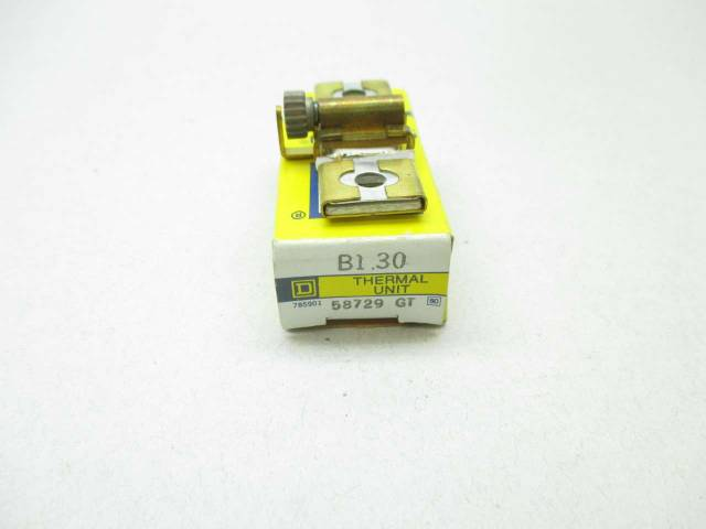 Square D B1 30 Overload Relay Thermal Unit Motor Starter