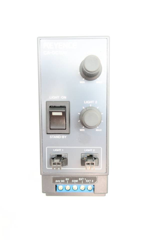 KEYENCE CA-DC100 LED ILLUMINATION CONTROLLER