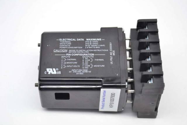 KSB PUMPSAFE BROADCAST MODULE A 24-240V-AC 120V-AC 5A AMP RELAY B457619