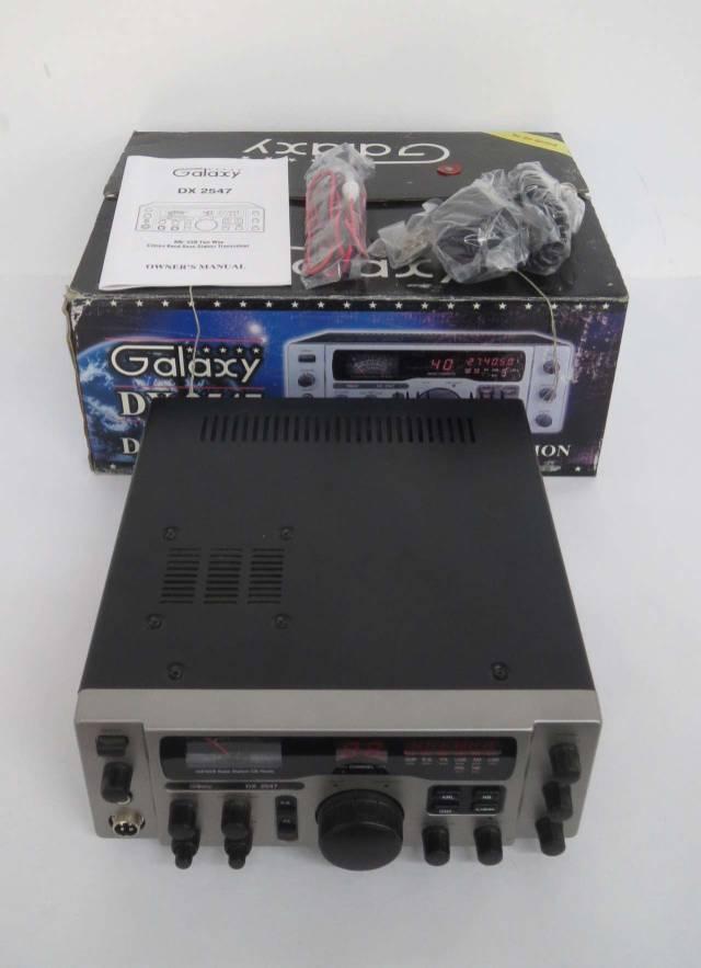 GALAXY DX 2547 CB RADIO BASE STATION 120V-AC 60W COMMUNICATION B462625