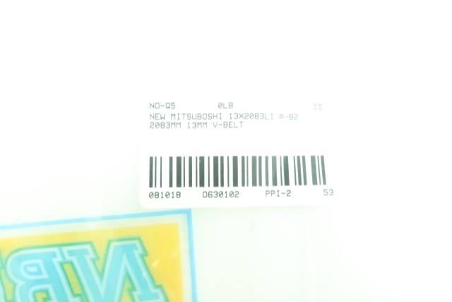 MITSUBOSHI 13X2083LI A-82 V-BELT 2083MM 13MM D630102
