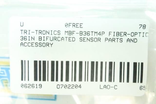TRI-TRONICS MBF-B36TM4P FIBER-OPTIC 36IN BIFURCATED