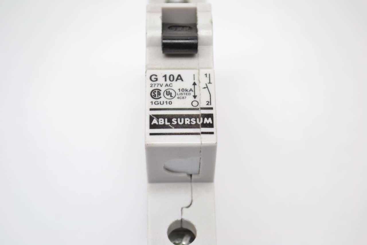 ALTECH ABL SURSUM BREAKER G 10A 10 AMP 277V AC 1GU10