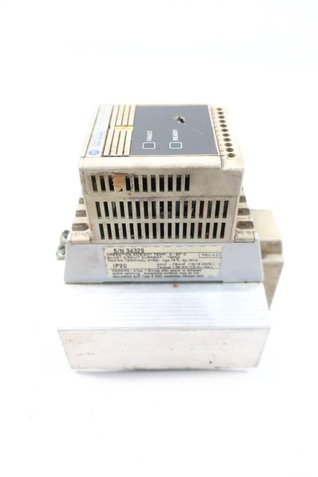 ALLEN BRADLEY 160-BA06NPS1 SER A SPEED CONTROLLER 380-460V-AC 0-240HZ 3HP