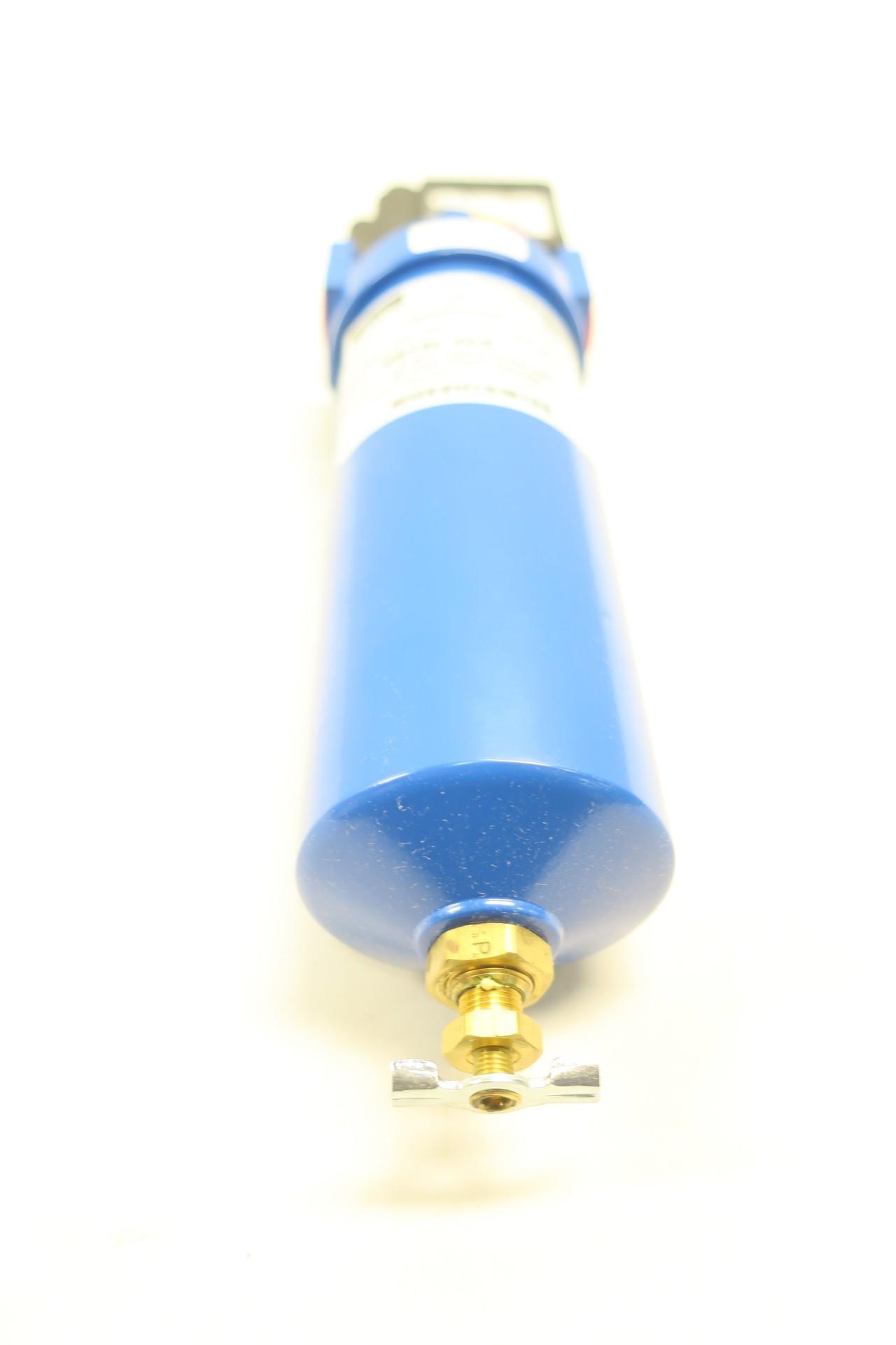 Parker HN15L-4CG Coalescing Hsg W// Diff Press Gauge 500psi 3//8in Npt