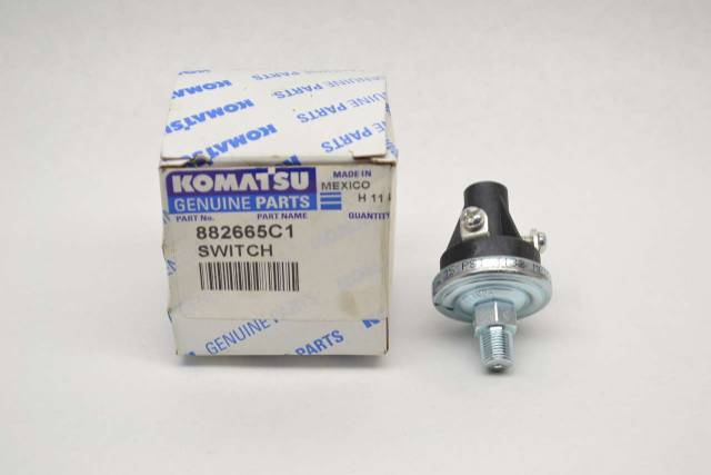 KOMATSU 882665C1 ENGINE OIL PRESSURE SWITCH REPLACEMENT PARTS B485424