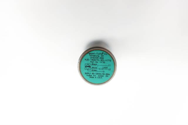 PEPPERL FUCHS NJ5-18GM70-WO-H77S PROXIMITY SENSOR 90-130V-AC
