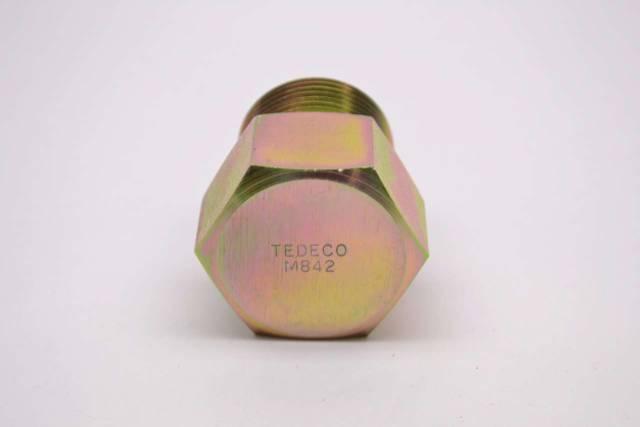 TEDECO M842 1 IN NPT 1-1/2 IN HEX STEEL BREATHER VENT PLUG B492515