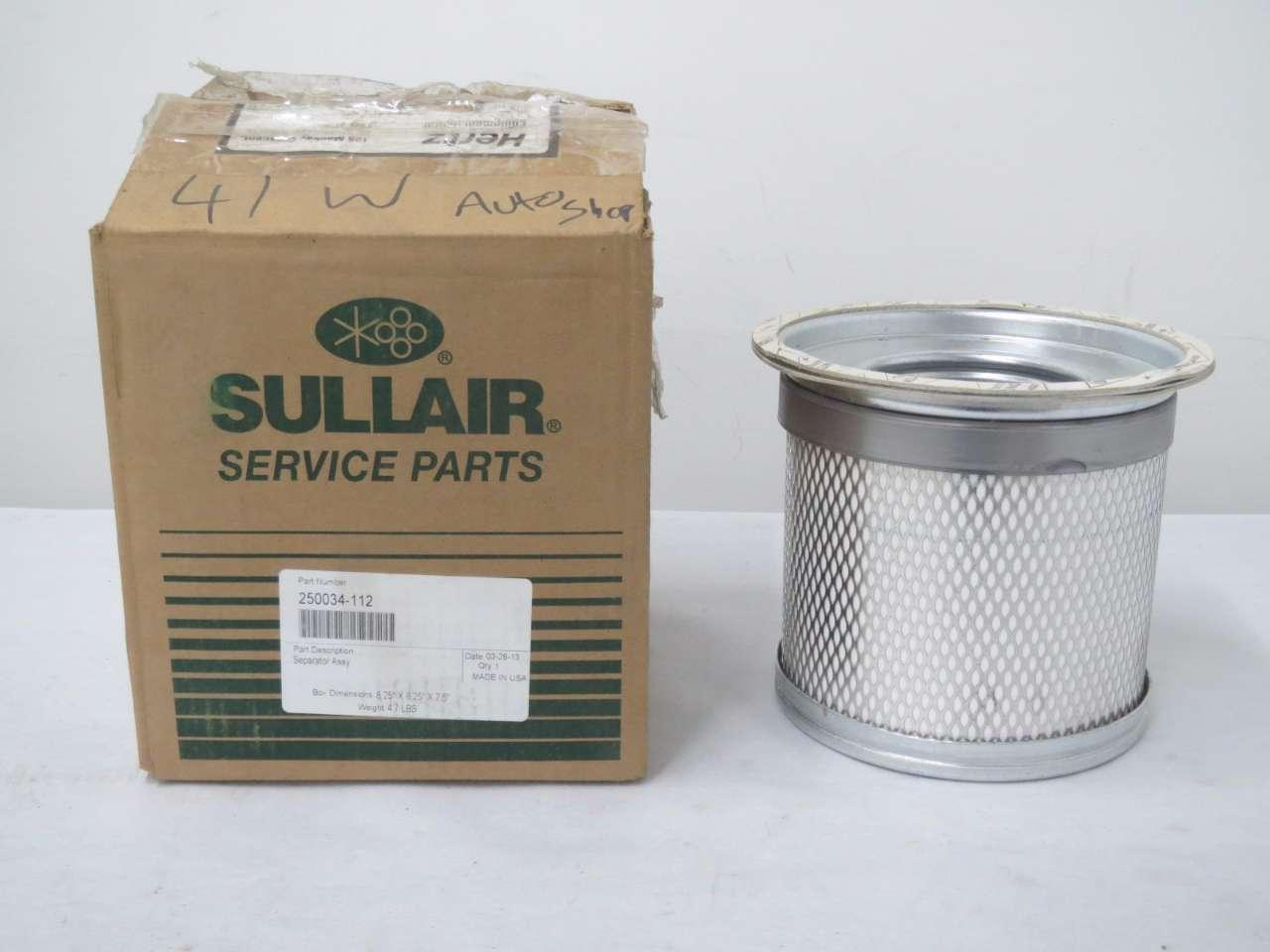 Qty 1 AFE 11100 SULLAIR Direct Replacement AIR/Oil Separator ...