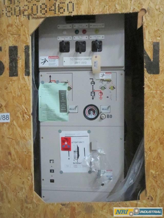 SIEMENS 8DA10 3AH49 GAS INSULATED SF6 38KV-AC VACUUM BREAKER SWITCHGEAR  D493818