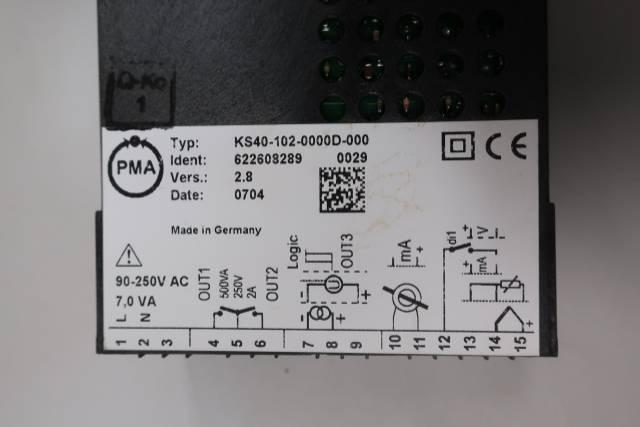 DANAHER KS40-102-0000D-000 UNIVERSAL CONTROLLER 90-250V-AC