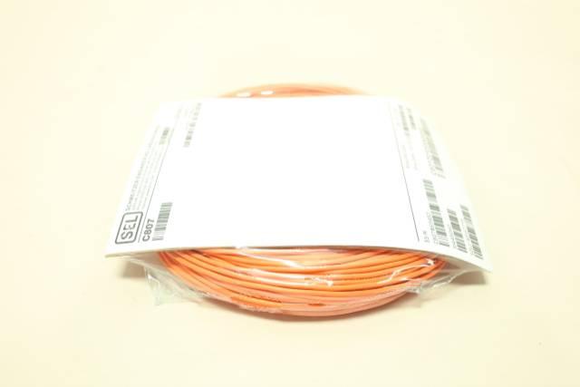 SEL C807Z010SSX0052 FIBER-OPTIC CORDSET CABLE 52M