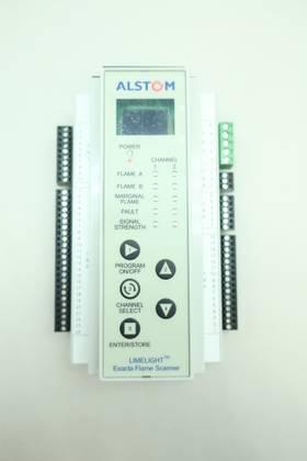 ALSTOM ESA-700 EPSD-0375-1108 LIMELIGHT FLAME SIGNAL ANALYZER 24V-DC OTHER ELECTRICAL COMPONENT