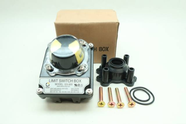RADIUS ES-900 LIMIT SWITCH BOX VALVE POSITION INDICATOR 250V-AC D653513