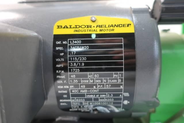 PULSAFEEDER 680-S-AE PULSA DIAPHRAGM METERING PUMP 0.88GPH 925PSI D660643