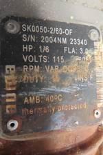 AUMA SG05.1 SK0050-2/60-OF 1/6HP 115V-AC ELECTRIC VALVE ACTUATOR R721548