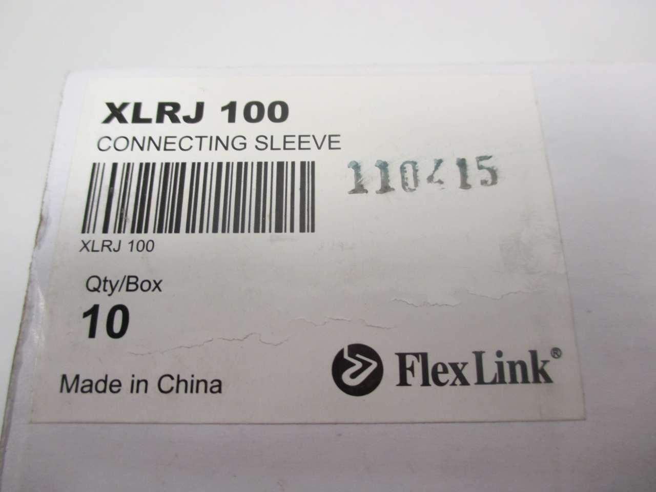 Connecting Sleeve Box of 10 NEW XLRJ 100 FlexLink