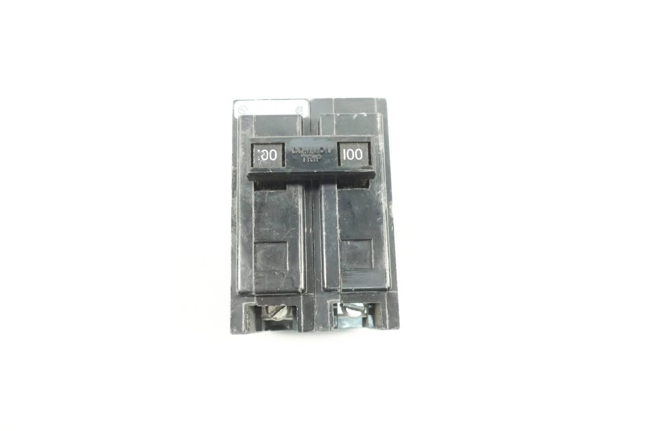 Eaton QBHW2100H Circuit Breaker 2P 100A 240VAC