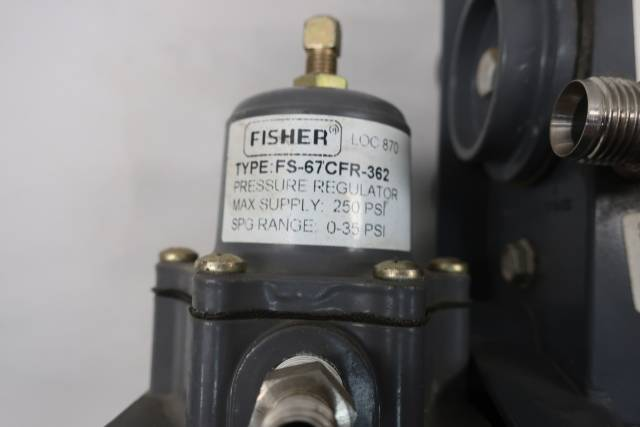 FISHER 3582G PNEUMATIC VALVE POSITIONER D649716