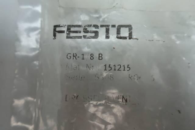 FESTO GR-1/8-B FLOW CONTROL VALVE 0-145PSI 1/8IN NPT D660062
